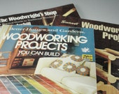 Woodworking Books Collection of Three Woodworking Books