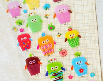 PVC Stickers (P164.19 - Night Owl)