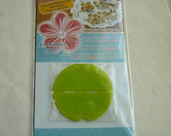 New Item -- 1 pack of CLOVER Kanzashi Flower Maker - Orchid Petal Small (2 inches)
