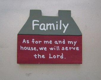 SALE - Family Christian/Inspirational Shelf Sitter