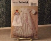 Babys Dedication Gown Pattern - Butterick B4964 - Uncut