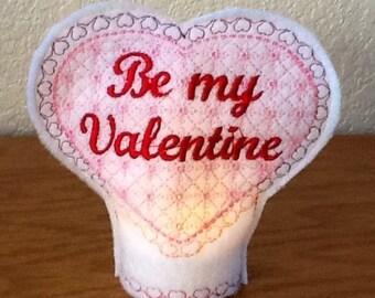 Valentine Tea Light Set , tea light included