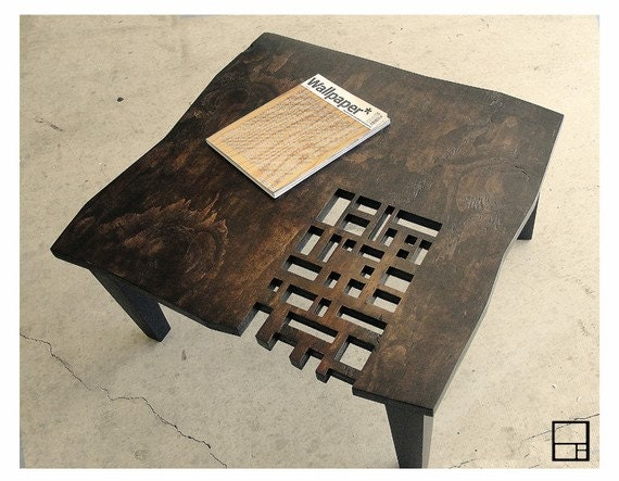 MSTRF // AD Block // Modern Rustic Distressed Coffee Table