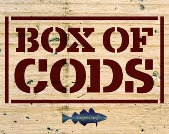 Box of Cods (Assortment of ten cods)