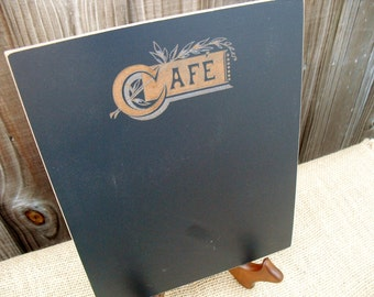 Bamboo Cafe Chalkboard with Easel - Item E1513