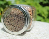 SALE Sprouting screen lid attachment (Grow your own sprouts)