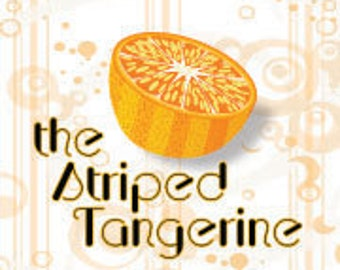 the Striped Tangerine- Gift Wrapped