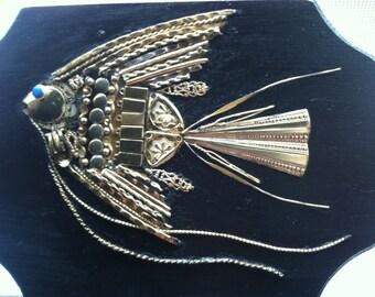 Angel Fish Assemblage Art