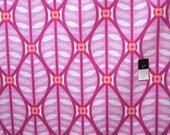 Erin McMorris OCEM006 Greenhouse Buttonwood Rose Cotton LAMINATE Fabric 1 Yd