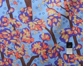 Melissa White PWMW016 Camille Treetops Mauve Cotton Fabric 1 Yd