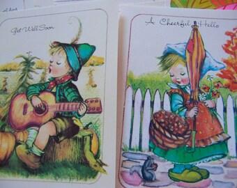 1988 little children card assortment
