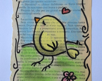 Love Bird - Original Illustration - by bdbworld on Etsy
