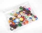 CLEARANCE  Sequins - 6mm Slightly Cupped Satin Mixed Colors