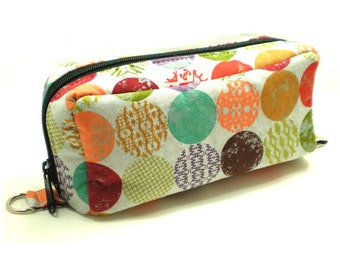 Essential Oil Case Holds 10 Bottles Essential Oil Bag Colorful Mod Dots