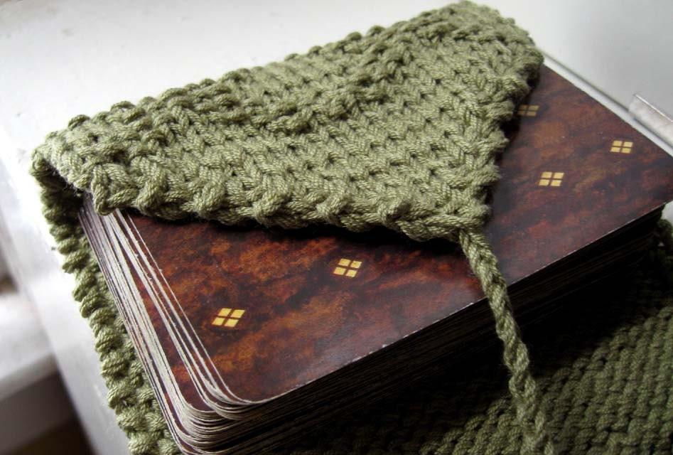 Knit Pattern Tarot Bag : Knit tarot wrap. tarot bag. Diamante in leafy green by ...