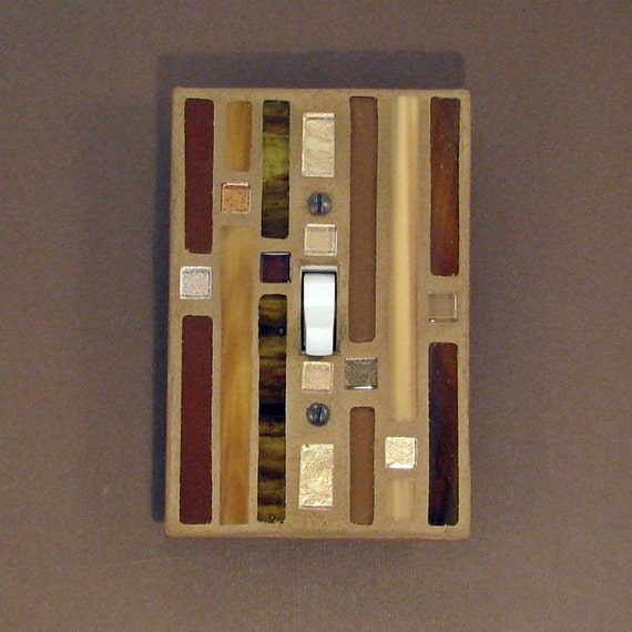 Toggle Switch Plate Cover Decorative Light By