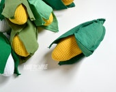 Recycled Tshirt Food - Yellow Corn with Removeable Husk (NUE040612-1)