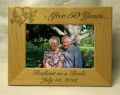 Personalized Anniversary Picture Frame 5x7