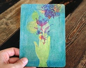 The Gift wooden postcard by Sweet William