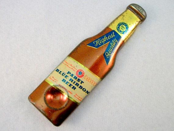 Pabst blue ribbon beer opener vintage