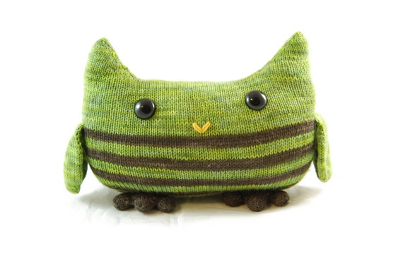 Xavier the Observant Owl Knitting Pattern Pdf INSTANT DOWNLOAD