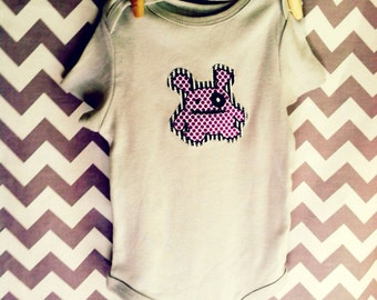 Grey Monster Shirt for 9-12 month olds