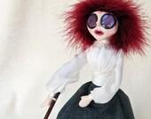 Lizzie Borden - Gothic Victorian Sensation Art Doll