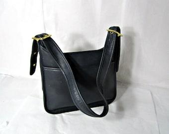 COACH Leather Purse Black leather shoulder bag