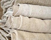 SALE Antique hemp linen European Sheet Natural