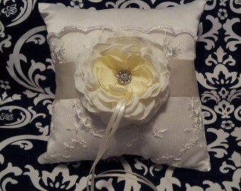 Polly Ring Bearer Pillow - Ready To Ship
