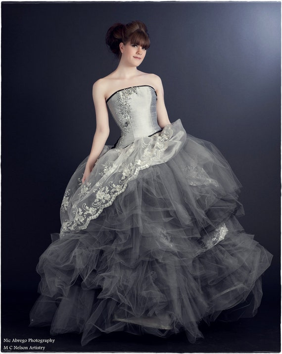 A Whimsical Fairytale Ball Gown Rhinestones And By