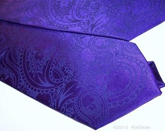 3 Neckties, men's paisley skull ties