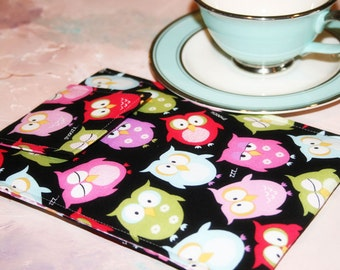 Ipad Sleeve, Tablet Accessories, Cases for ipad, Ipad mini sleeve in Hoot Hoot Owl