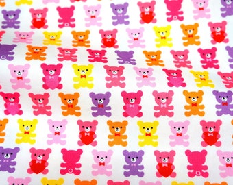 Japanese fabric Bear  print fat quarter  (n415)