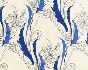 ROBERT KAUFMAN by Melissa Crowley. La Femme. Cotton/Linen Blend. 1 yard.