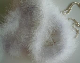 MARABOU Feather Boa / White / BOA - 004