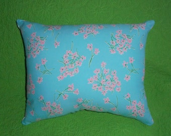 New Pillow made with Lilly Pulitzer Palm Beach Floral fabric