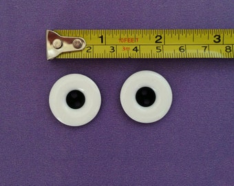 LARGE Pair of monster eye buttons