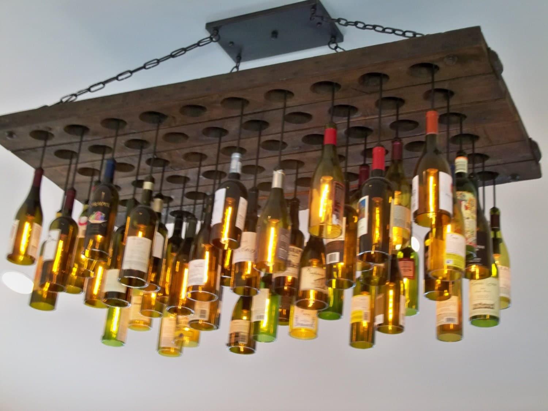 Wine bottle lighting fixture photo 5 x 7 - Wine bottle light fixtures ...