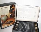 Sale, BREAK THRU ,1965 3M, complete,Double Strategy War Naval  Battle Ship Capture Game,Bookshelf Board Game, Mad Men Era, was 40 now 25