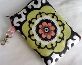 READY TO SHIP Customizeable Gadget case Doubly Padded in Annette Tatum Berry Medallion (see shop annc. for free shipping offer)