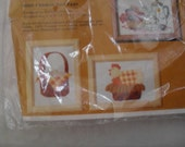 Embroidery Stitchery Chicken and Eggs New Creative Circle Kit