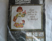 Bucilla Embroidery NeedleCraft Stitchery New Kit