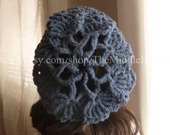 Bridget - Cozy Snood - In Mountain Lake Blue