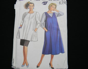 Uncut New Look Pattern 6398 Size 8-18 Maternity Jumper, Top and Skirt