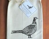 Ring Neck Pheasant Flour Sack Towel