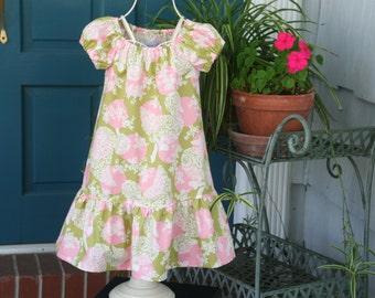 Adorable Girls Dress   Sizes 1..2..3..4..5..6..7..8..10