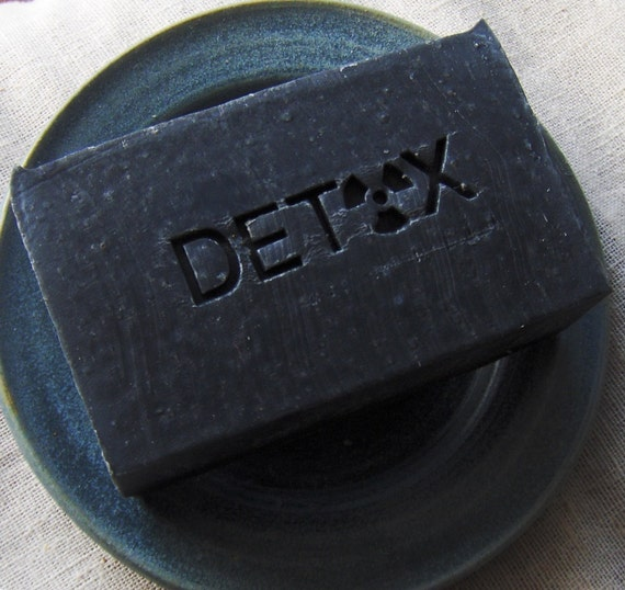 Zeolite Detox Soap With Activated Charcoal And Bentonite Clay