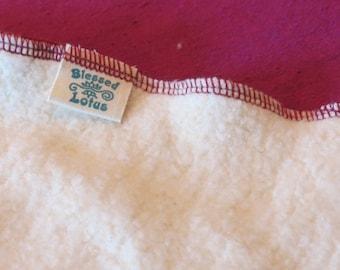Cloth Diaper- Organic Cotton/Hemp Fleece, size LARGE