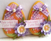 Sweet Easter Embellishments- Here Comes The Easter Bunny -